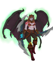 Drawing Commissions: Demon Hunter