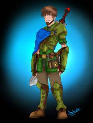 Dungeons and Dragons: Human Paladin Asmund