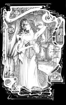 Waerme mein Herz - Illustration