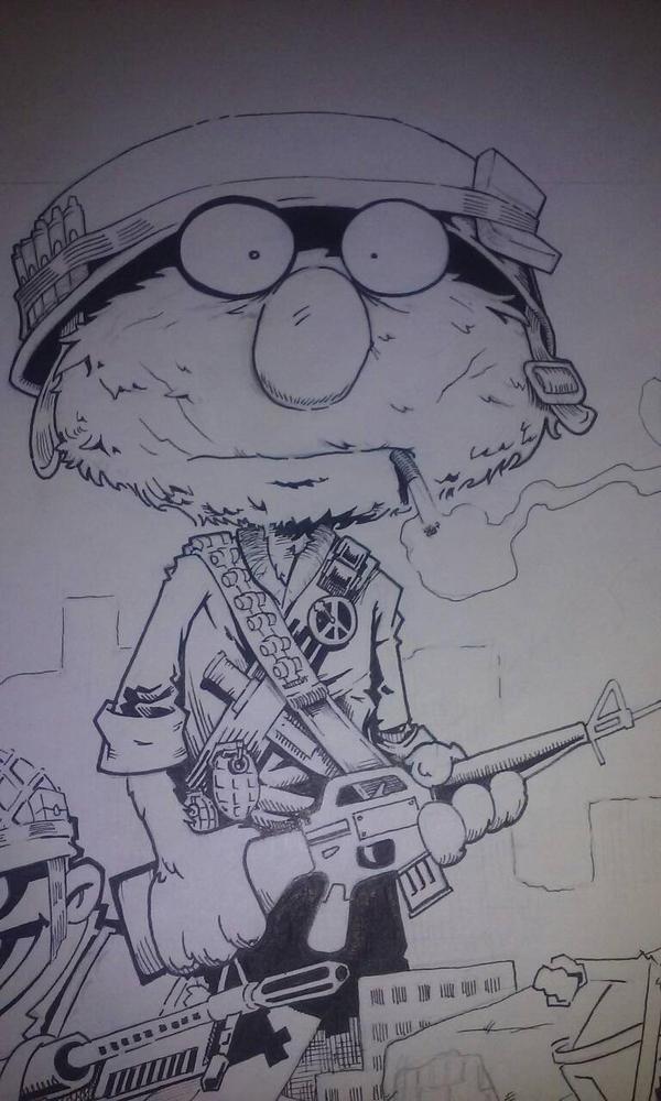 full metal muppet  by Spoon1004