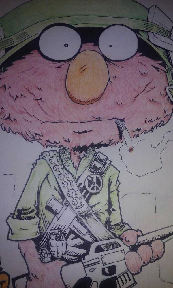 fmj muppet wip by Spoon1004