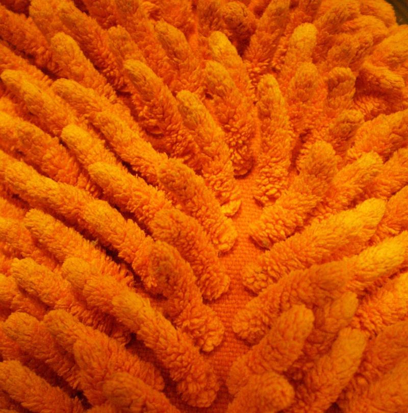 Orange in anus