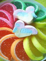 food rainbow by my--anus
