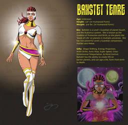 Bahstet Character Card by lyonsartandmedia
