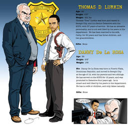 Detectives Character Card