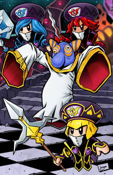 Hyness and the Jambation Mages