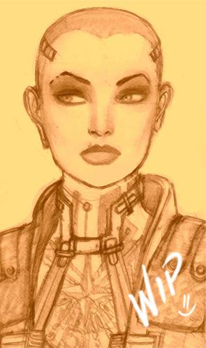 Jack - Mass Effect WIP by lux-rocha
