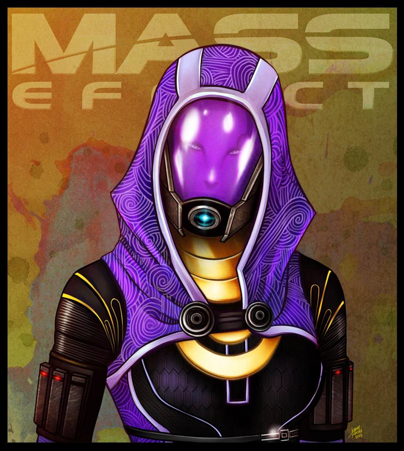 Mass Effect - Tali'Zorah by lux-rocha
