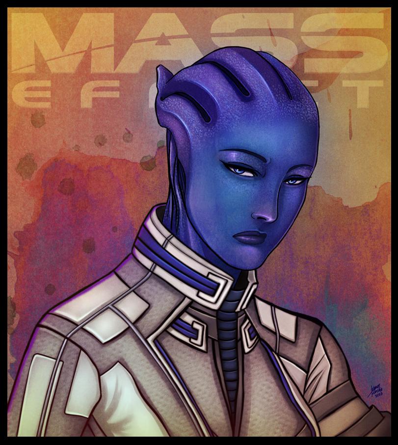 Mass Effect - Liara T'soni by lux-rocha