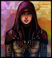 Mass Effect - Kasumi Goto by lux-rocha