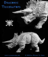 Draconic Triceratops