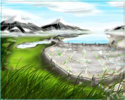 Arisanda City Concept Art by IceDragonhawk