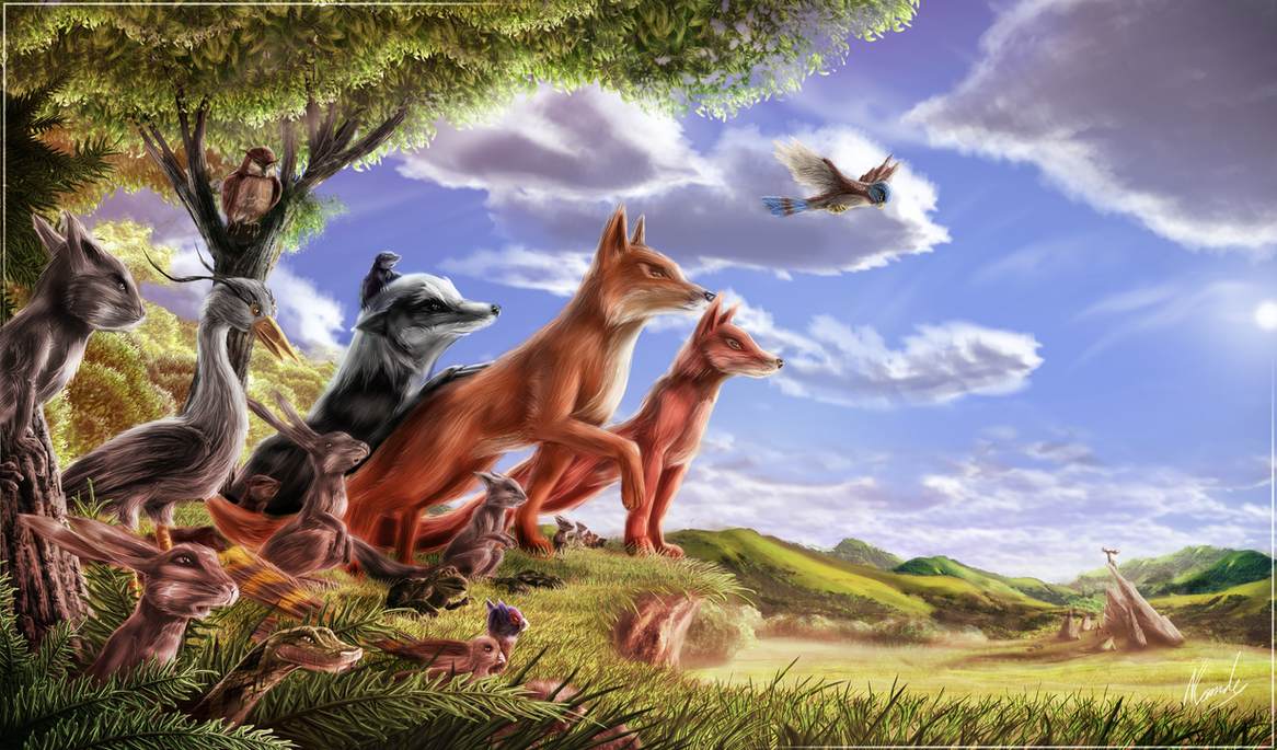 The Animals of Farthing Wood by IceDragonhawk