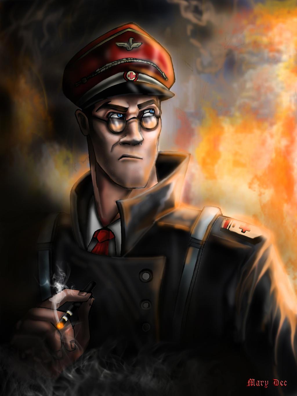 Combat Medic Ziegler by Keeterz.deviantart.com on @DeviantArt
