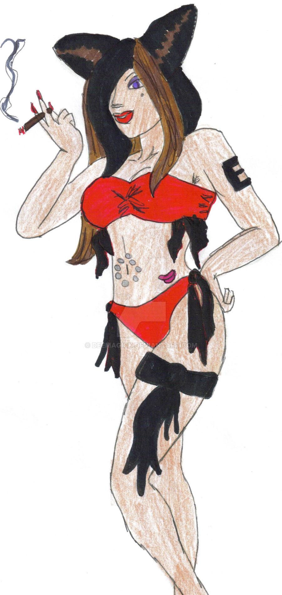 Elix's Bikini Shot by DeemagicK