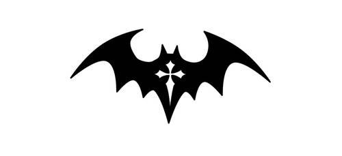 my bat tattoo by Thira-Evenstar