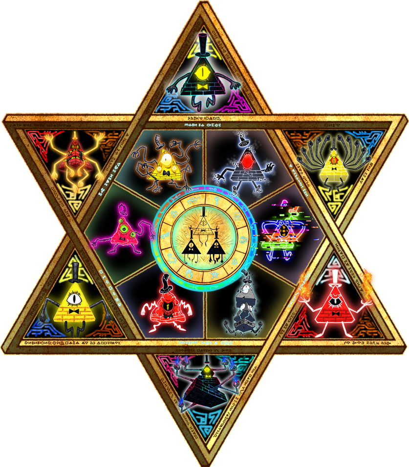 Bill Cipher Homage by magicofgames on DeviantArt