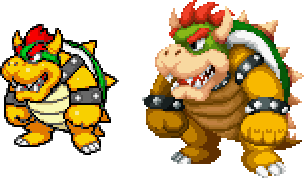 Ss Bowser In Dt Style By Magicofgames On Deviantart