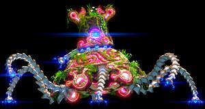 Zelda BotW Guardian 3D Render by magicofgames