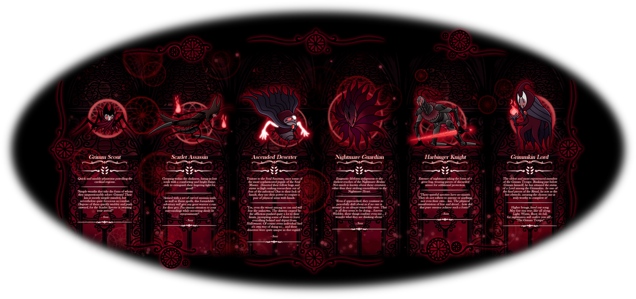 Hollow Knight Nightmare Realm Enemies Part 2 By