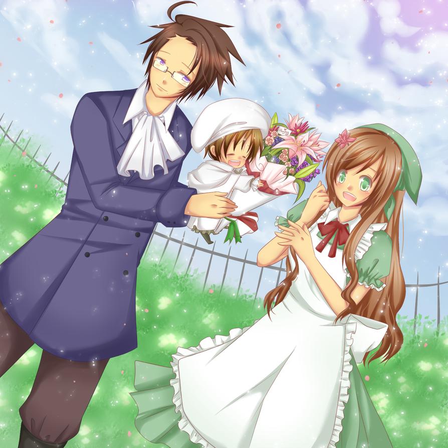 imagenes anime - parejas