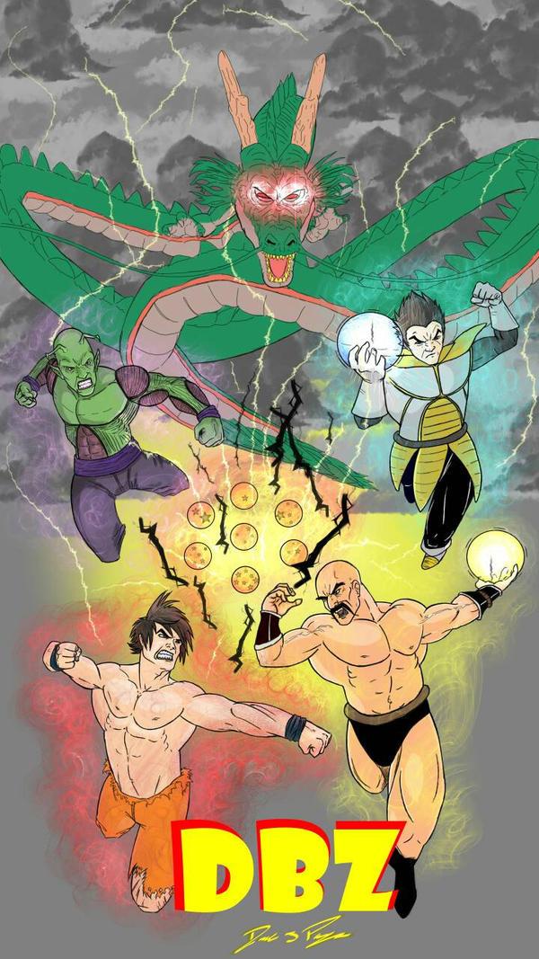 Dragon Ball Z by PAYNEtacular