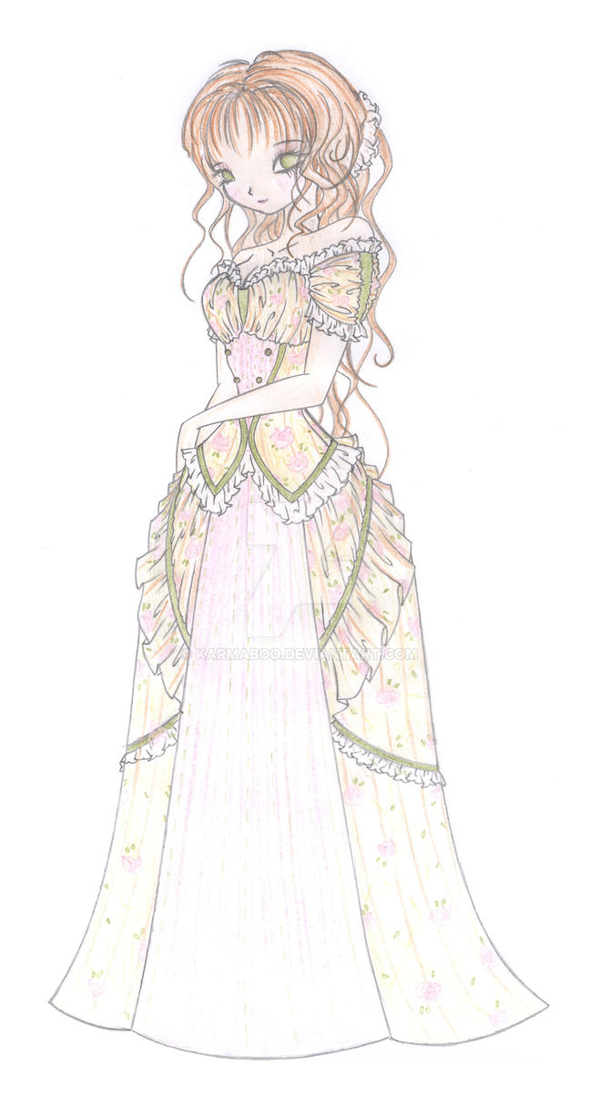 Victorian Ball Gown 01 by KarmaBoo on DeviantArt