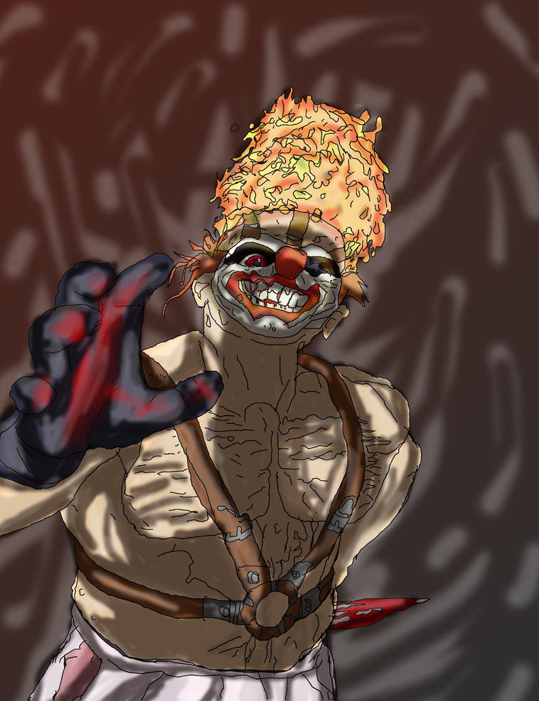 Sweettooth twisted metal black by absolhunter251 on deviantart - Sweet tooth wallpaper twisted metal ...