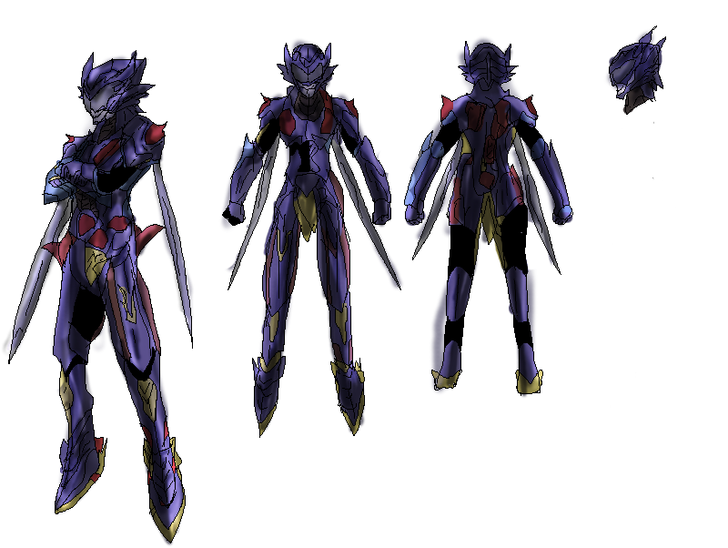 Soraxess S Knight Armor Khbbs By Absolhunter251 On Deviantart