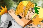 SiegfriedxSophitia- blossoming love