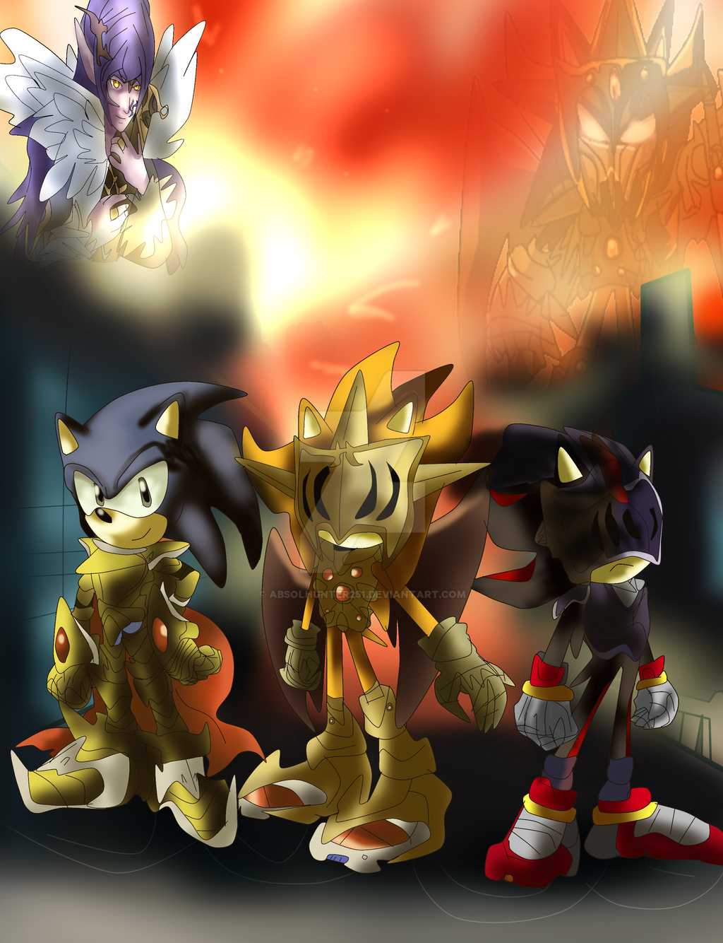 Sonic And The Black Knight Sagramores Tale By Absolhunter251