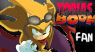 Tobias- Sonic Boom Stamp Fan by Absolhunter251