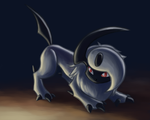 Absol Recoloured
