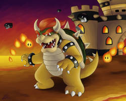 Bowser (Commission) by Rabid-Fangirl212