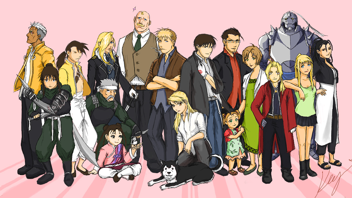 The gallery for --> Fullmetal Alchemist Characters Names