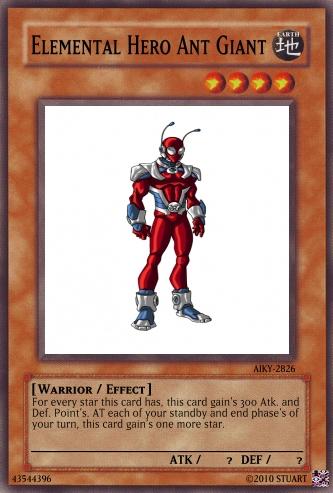 Elemental Hero Ant Giant by FelgrandKnight34
