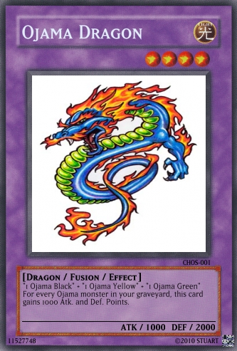 Ojama Dragon by FelgrandKnight34