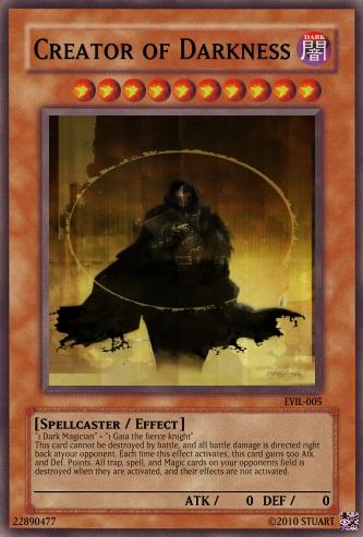 Creator of Darkness by FelgrandKnight34