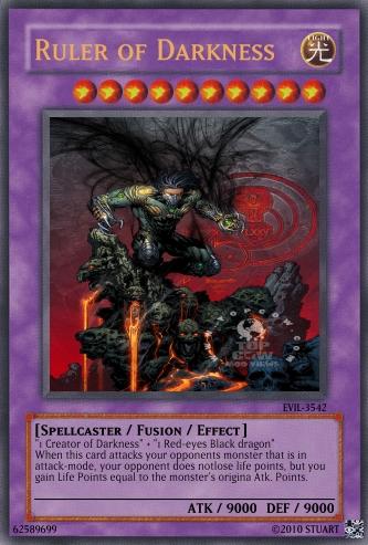 Ruler of Darkness by FelgrandKnight34