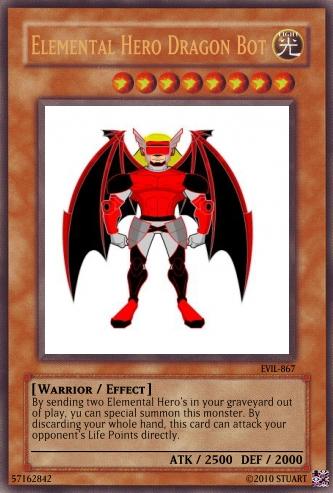 Elemental Hero Dragon Bot by FelgrandKnight34