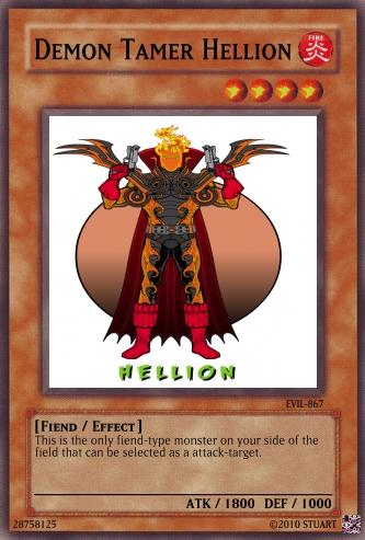 Demon Tamer Hellion by FelgrandKnight34