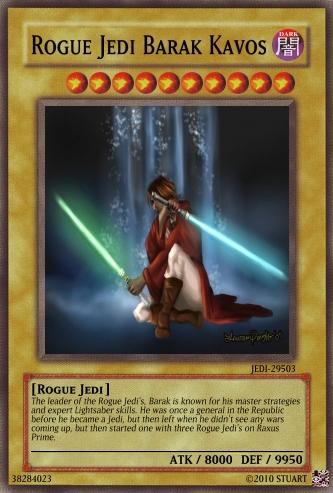Rogue Jedi Barak Kavos by FelgrandKnight34