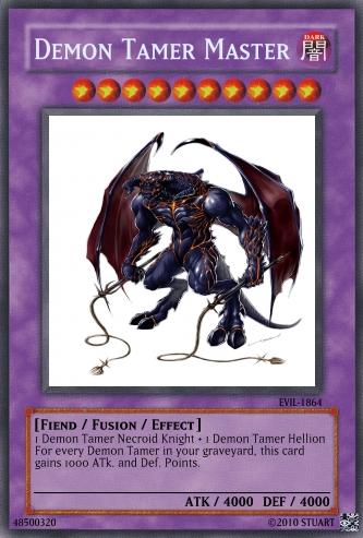 Demon Tamer Master by FelgrandKnight34