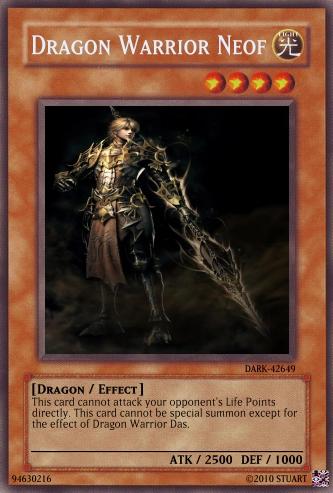 Dragon Warrior Neof by FelgrandKnight34