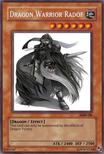 Dragon Warrior Radof by FelgrandKnight34