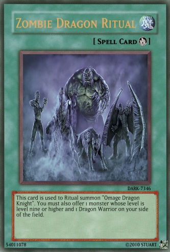 Zombie Dragon Ritual by FelgrandKnight34