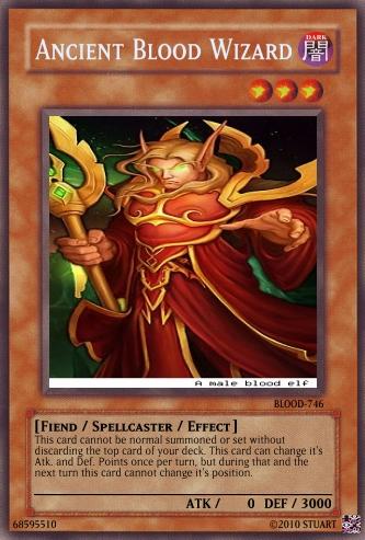 Ancient Blood Wizard by FelgrandKnight34