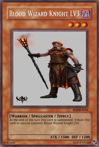 Blood Wizard Knight LV3 by FelgrandKnight34