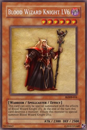 Blood Wizard Knight LV6 by FelgrandKnight34