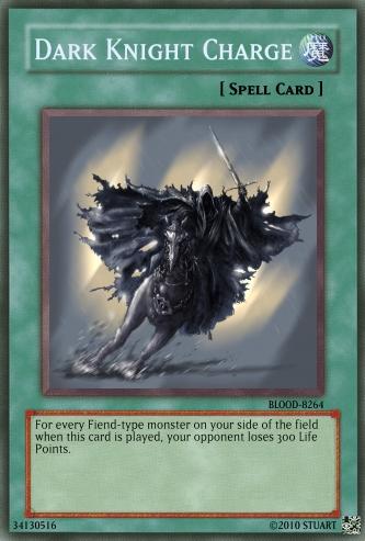 Dark Knight Charge by FelgrandKnight34